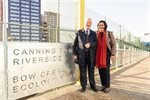 New walkway links Tower Hamlets with Newham