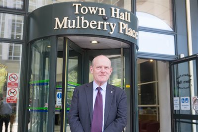 Mayor John Biggs at MP