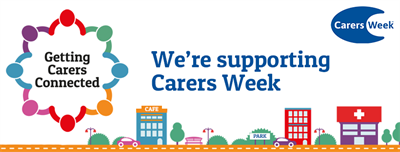 Carers Week 2019 Facebook banner - We're supporting