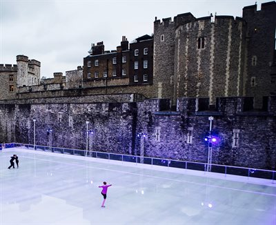 Tower of Lon ice skating 1