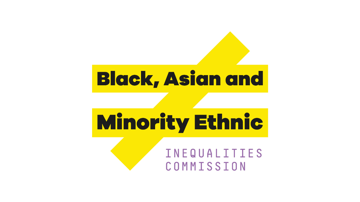 BAME Inequalities Comission logo