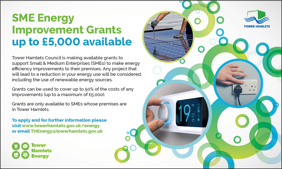 SME Energy Improvement Grants