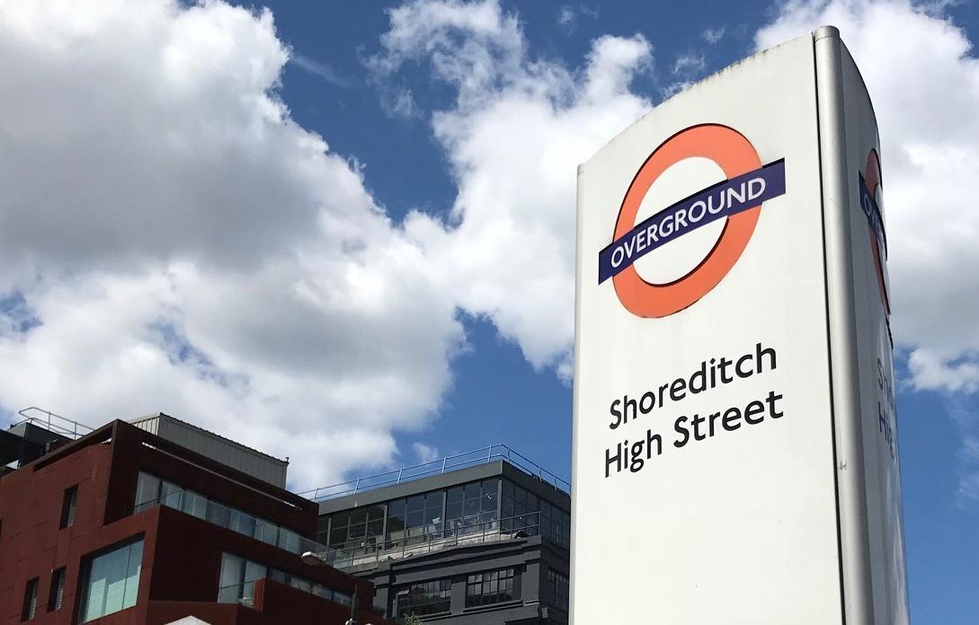 Travel SHS station - Crossrail's inconsistent roundels!