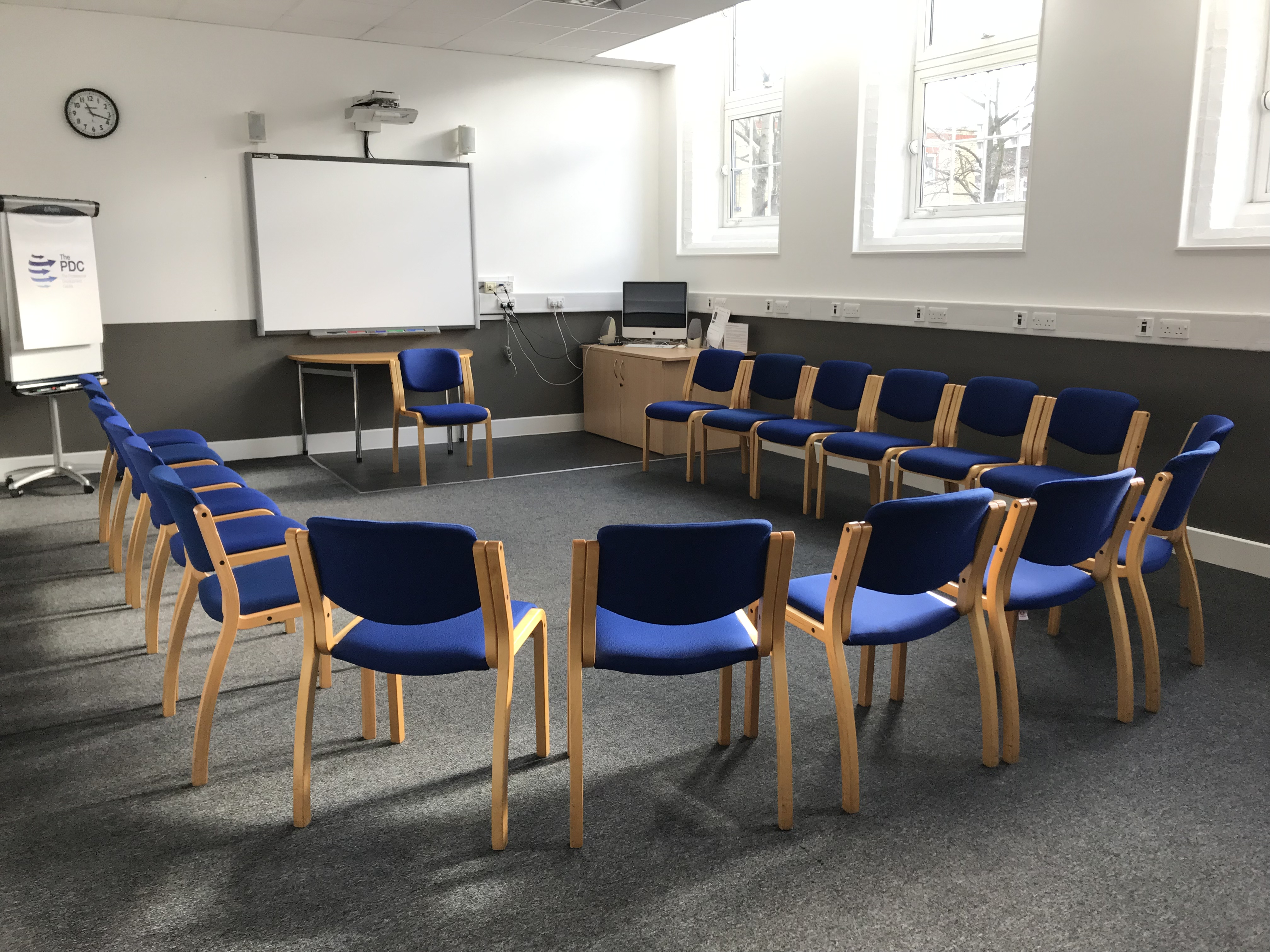 room 106 - ushape chairs only