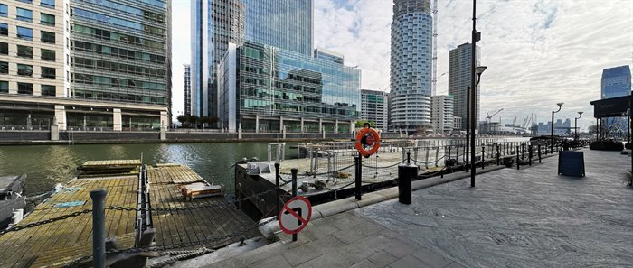New bridge location South Quay