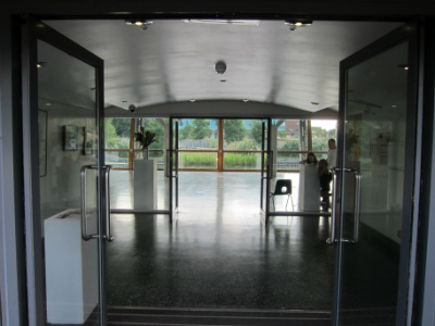 Arts Pavilion entrance