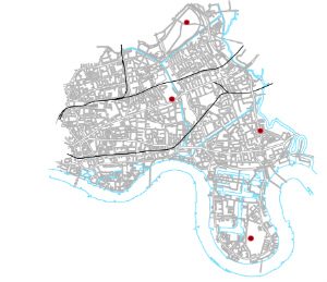 Map tower hamlets